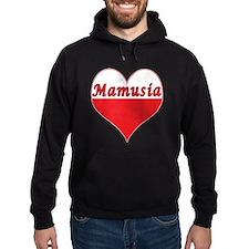 Mamusia Polish Heart Hoodie