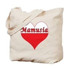 Mamusia Polish Heart Tote Bag