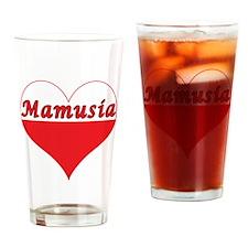 Mamusia Polish Heart Drinking Glass