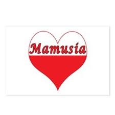 Mamusia Polish Heart Postcards (Package of 8)