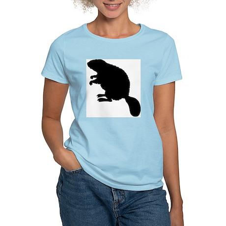 Beaver Women's Pink T-Shirt