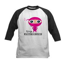 Girl-Ninja Baseball Jersey