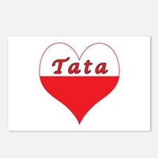 Tata Polish Heart Postcards (Package of 8)