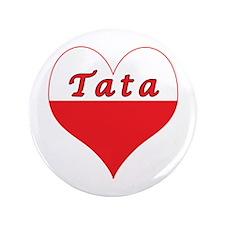 """Tata Polish Heart 3.5"""" Button"""
