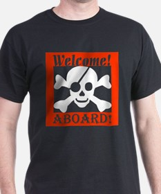 Welcome Aboard the Caribbean  T-Shirt