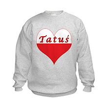 Tatus Polish Heart Sweatshirt