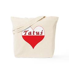 Tatus Polish Heart Tote Bag