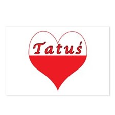 Tatus Polish Heart Postcards (Package of 8)
