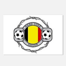 Belgium Soccer Postcards (Package of 8)