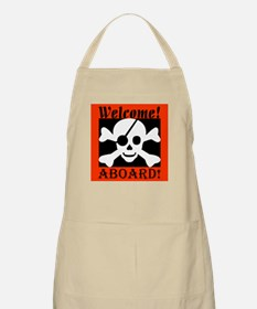 Welcome Aboard the Caribbean  BBQ Apron