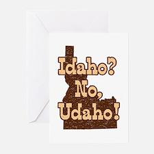 Idaho No Udaho Greeting Cards (Pk of 10)