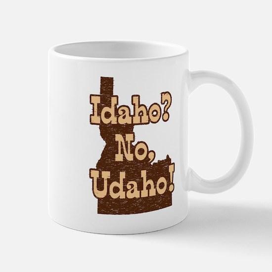 Idaho No Udaho Mug