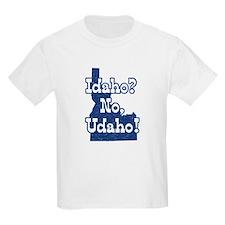 Idaho No Udaho Kids T-Shirt