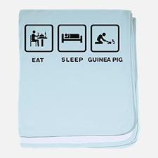 Guinea Pig Lover baby blanket