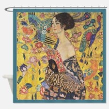 Gustav Klimt - Fan 1 - Shower Curtain