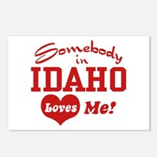 Somebody in Idaho Loves Me Postcards (Package of 8