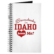 Somebody in Idaho Loves Me Journal
