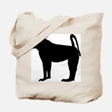 Baboon (Silhouette) Tote Bag