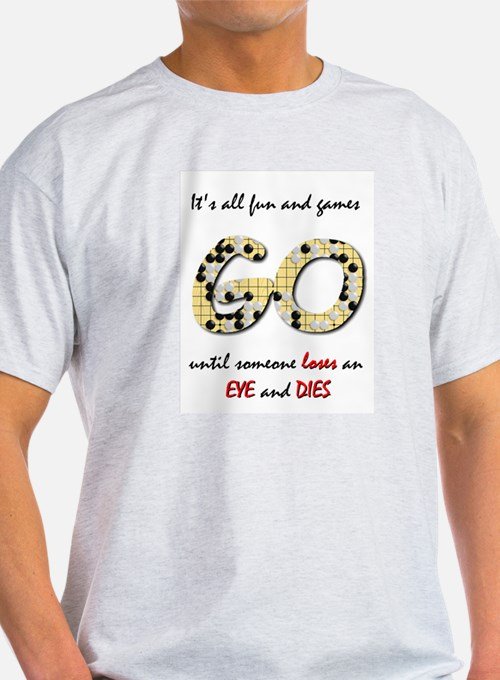 Fun and Games / Go Lover small Light Color T-Shirt
