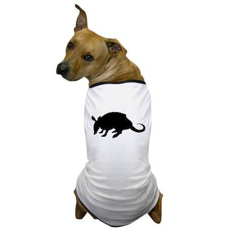 Armadillo (Silhouette) Dog T-Shirt
