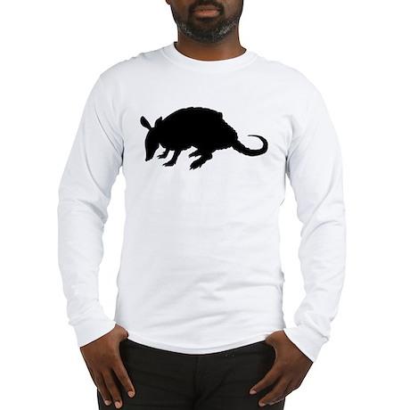 Armadillo (Silhouette) Long Sleeve T-Shirt