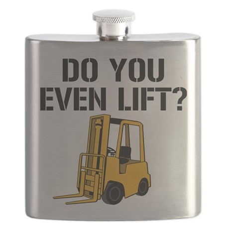 Do You Even Lift Forklift Flask
