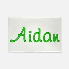 Aidan Glitter Gel Rectangle Magnet