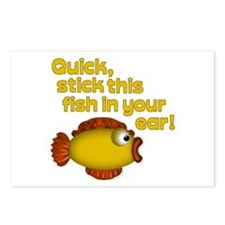 STICK THIS FISH IN YOUR... Postcards (Package of 8