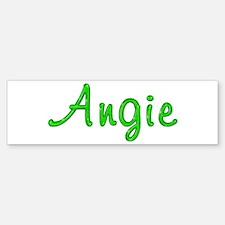 Angie Glitter Gel Bumper Bumper Bumper Sticker