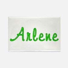 Arlene Glitter Gel Rectangle Magnet