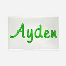 Ayden Glitter Gel Rectangle Magnet