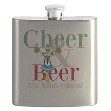 Cheer Beer Holiday Spirit Flask