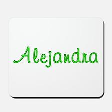 Alejandra Glitter Gel Mousepad