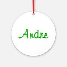 Andre Glitter Gel Round Ornament