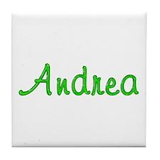 Andrea Glitter Gel Tile Coaster