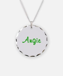 Angie Glitter Gel Necklace