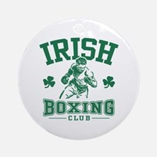 Irish Boxing Ornament (Round)