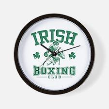 Irish Boxing Wall Clock