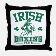 Irish Boxing Throw Pillow