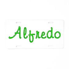 Alfredo Glitter Gel Aluminum License Plate