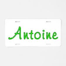 Antoine Glitter Gel Aluminum License Plate