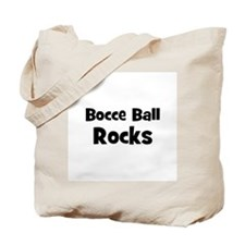 BOCCE BALL Rocks Tote Bag