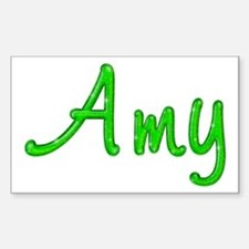 Amy Glitter Gel Rectangle Decal