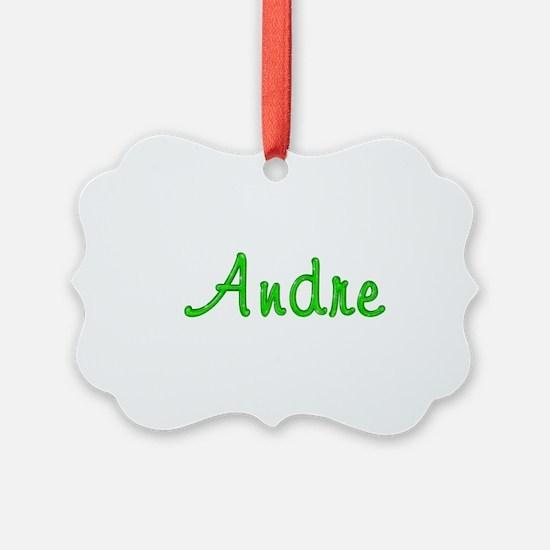 Andre Glitter Gel Ornament