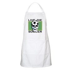 Live, Die, Soccer BBQ Apron