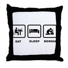 Bonsai Lover Throw Pillow