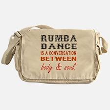 Samba dance is a conversation betwee Messenger Bag