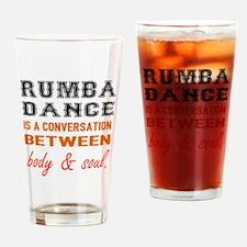 Samba dance is a conversation betwe Drinking Glass