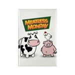 Meatless Monday Rectangle Magnet