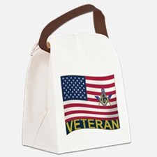 US Veteran Canvas Lunch Bag